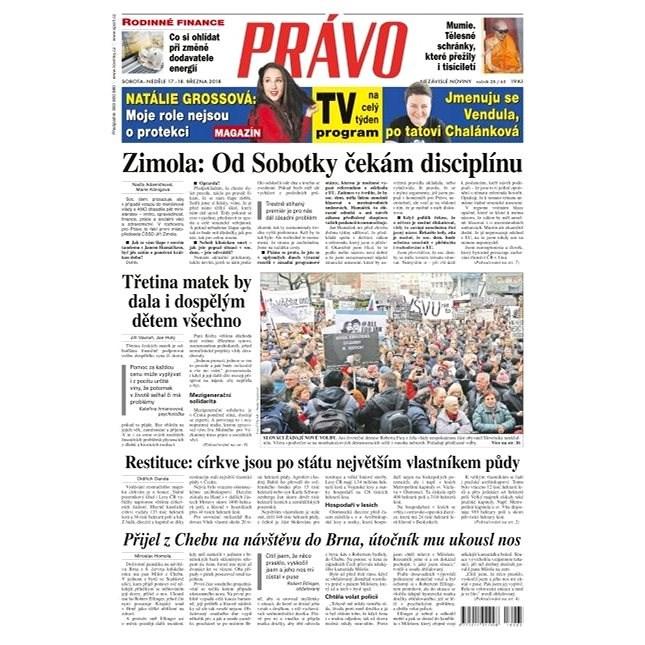 Právo - 17-03-2018 - Elektronické noviny