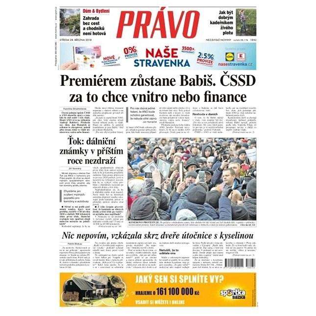Právo - 28-03-2018 - Elektronické noviny