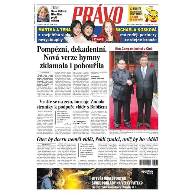 Právo - 29-03-2018 - Elektronické noviny
