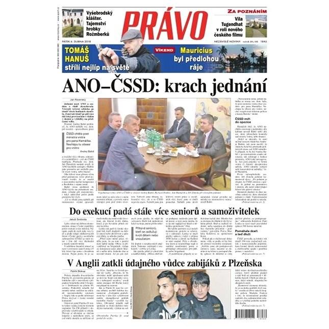 Právo - 06-04-2018 - Elektronické noviny