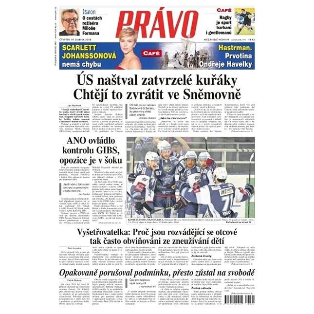 Právo - 19-04-2018 - Elektronické noviny