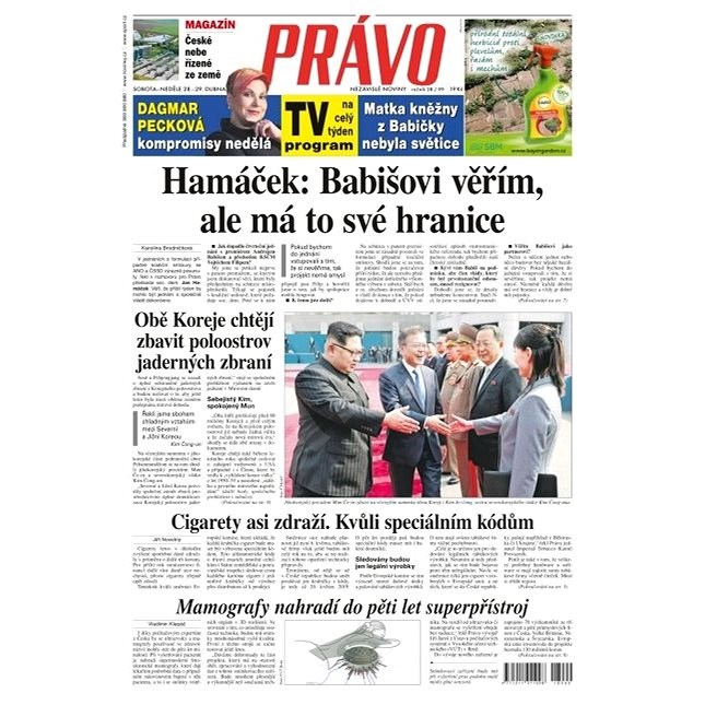 Právo - 28-04-2018 - Elektronické noviny