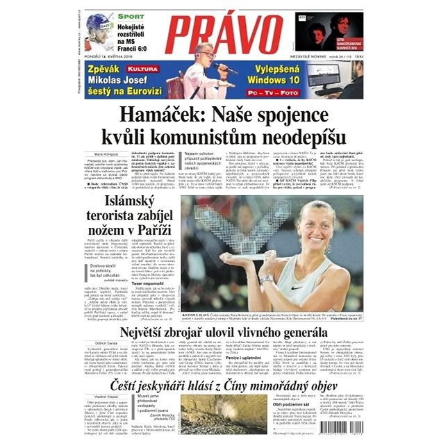 Právo - 14-05-2018 - Elektronické noviny