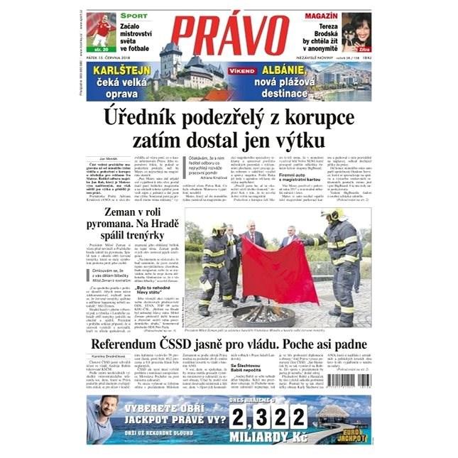 Právo - 15-06-2018 - Elektronické noviny