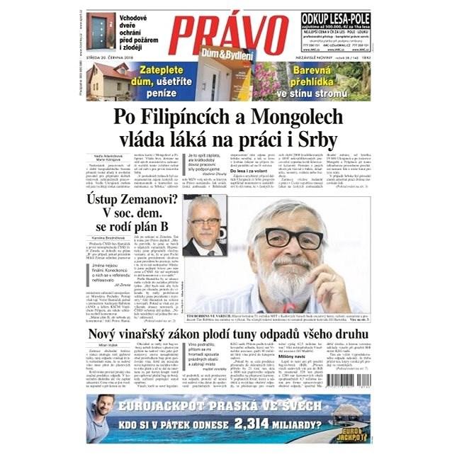 Právo - 20-06-2018 - Elektronické noviny
