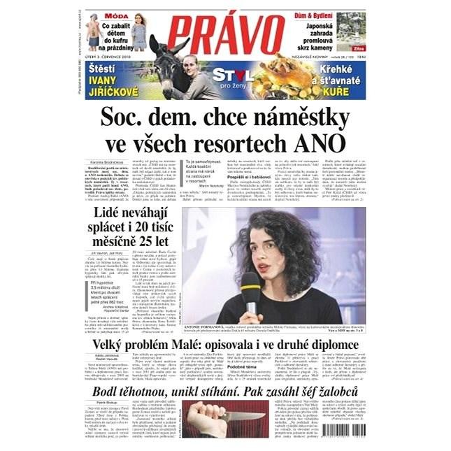 Právo - 03-07-2018 - Elektronické noviny