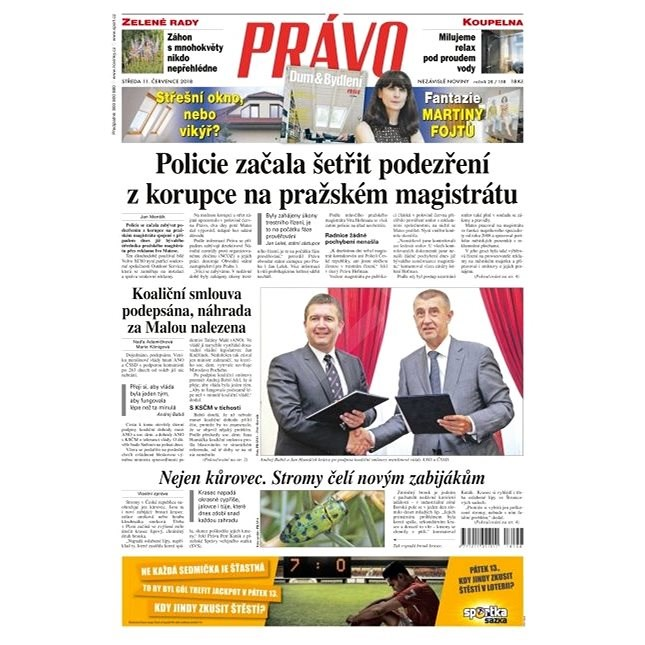 Právo - 11-07-2018 - Elektronické noviny
