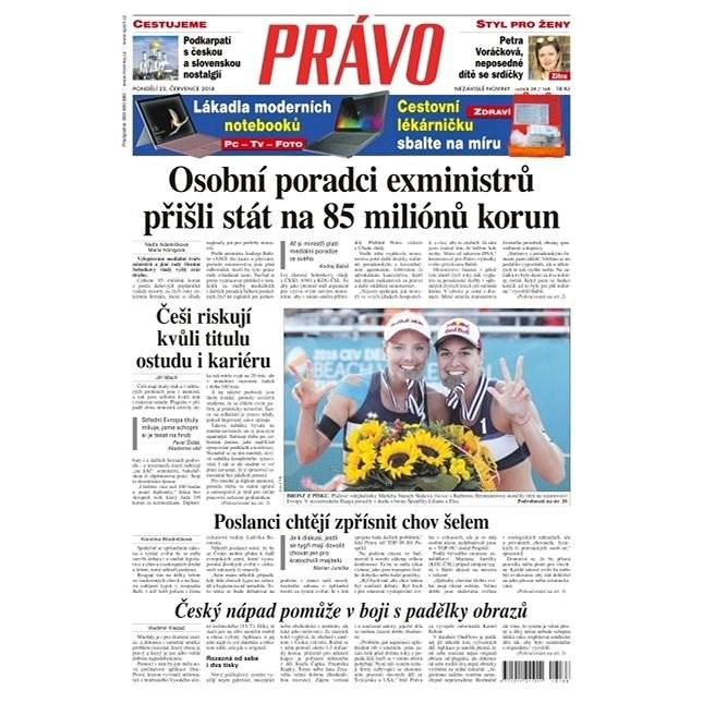 Právo - 23-07-2018 - Elektronické noviny