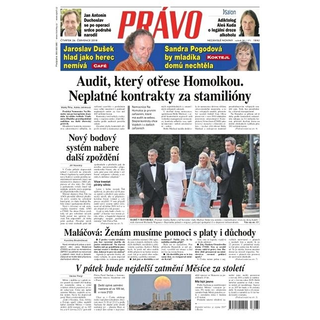 Právo - 26-07-2018 - Elektronické noviny