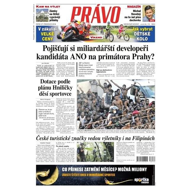 Právo - 27-07-2018 - Elektronické noviny