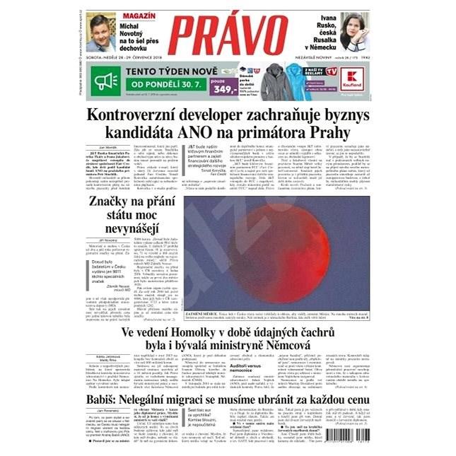 Právo - 28-07-2018 - Elektronické noviny