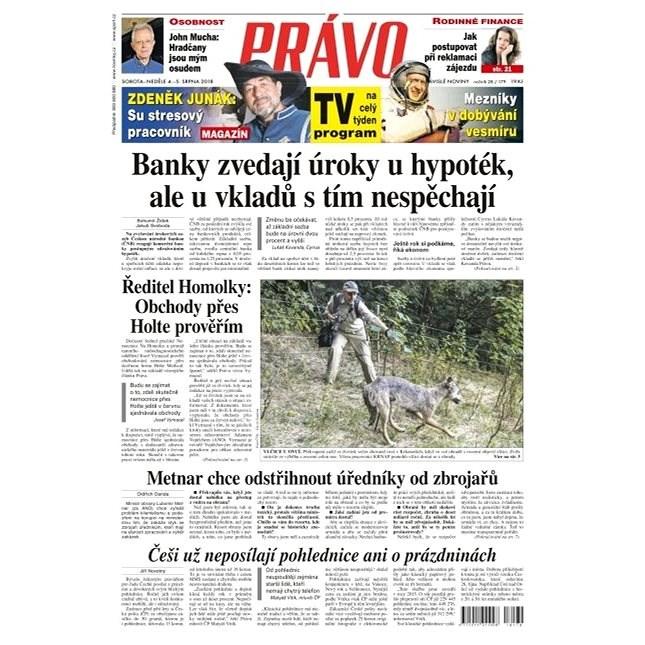 Právo - 04-08-2018 - Elektronické noviny