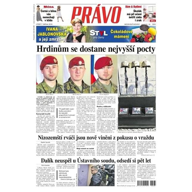Právo - 07-08-2018 - Elektronické noviny