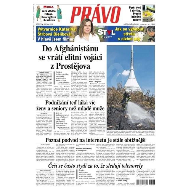 Právo - 14-08-2018 - Elektronické noviny
