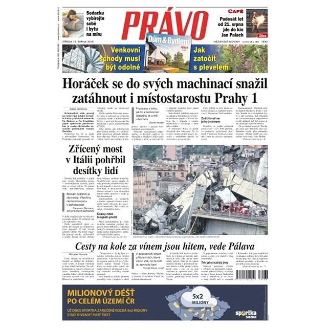 Právo - 15-08-2018 - Elektronické noviny