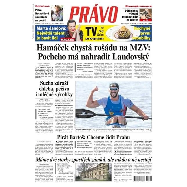 Právo - 25-08-2018 - Elektronické noviny