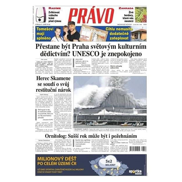 Právo - 05-09-2018 - Elektronické noviny
