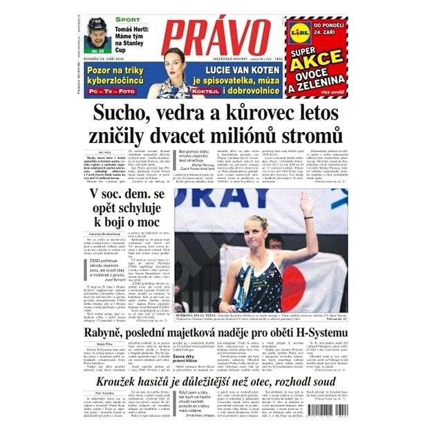 Právo - 24-09-2018 - Elektronické noviny