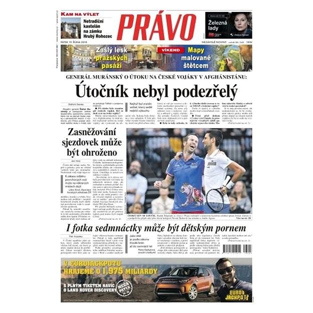 Právo - 19-10-2018 - Elektronické noviny