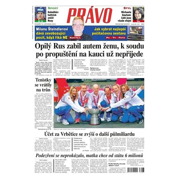 Právo - 12-11-2018 - Elektronické noviny