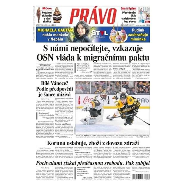 Právo - 13-11-2018 - Elektronické noviny
