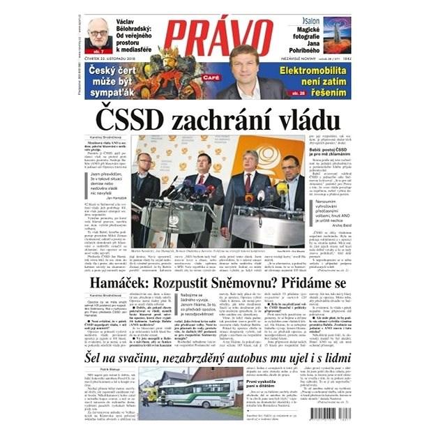 Právo - 22-11-2018 - Elektronické noviny