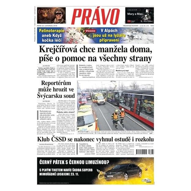 Právo - 23-11-2018 - Elektronické noviny