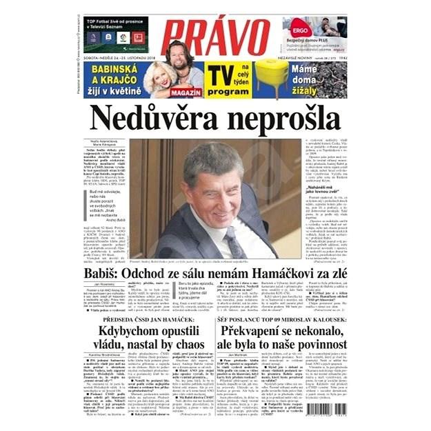 Právo - 24-11-2018 - Elektronické noviny