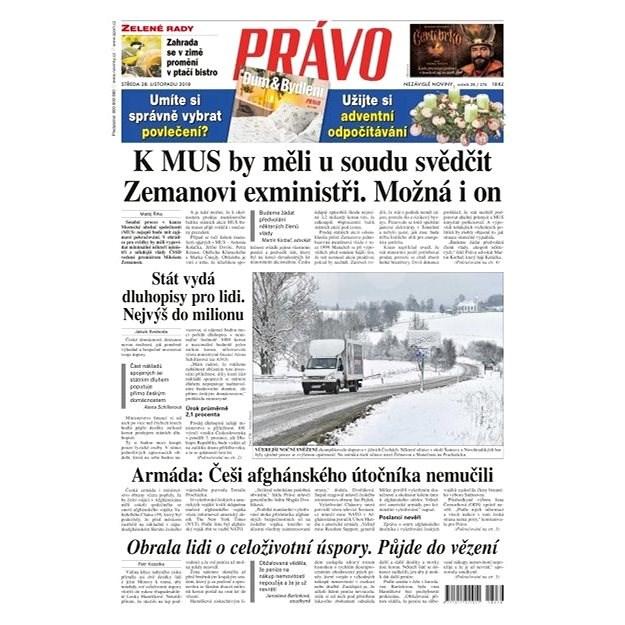 Právo - 28-11-2018 - Elektronické noviny