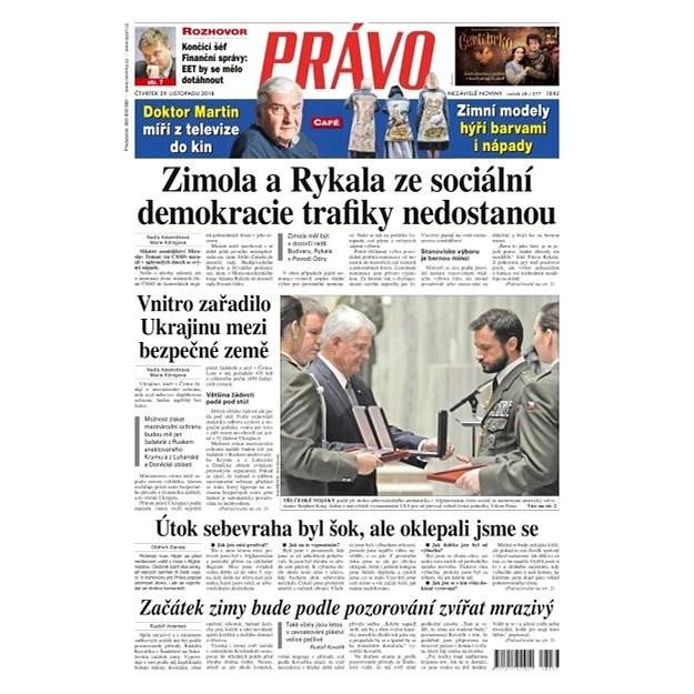 Právo - 29-11-2018 - Elektronické noviny
