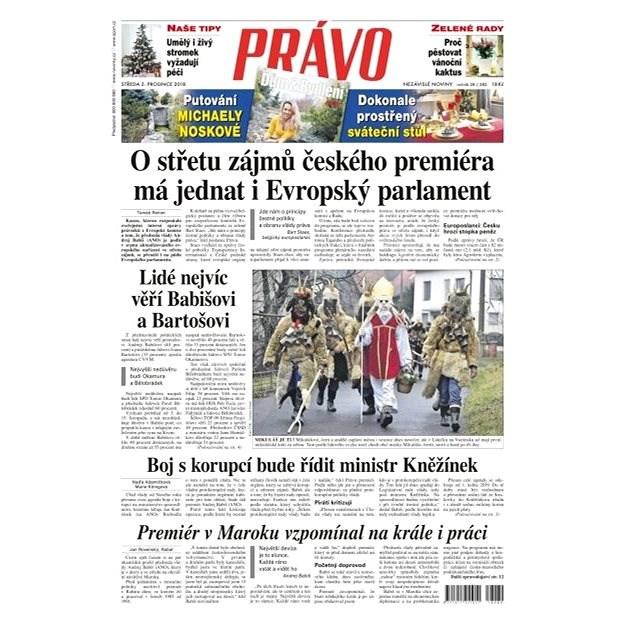 Právo - 05-12-2018 - Elektronické noviny