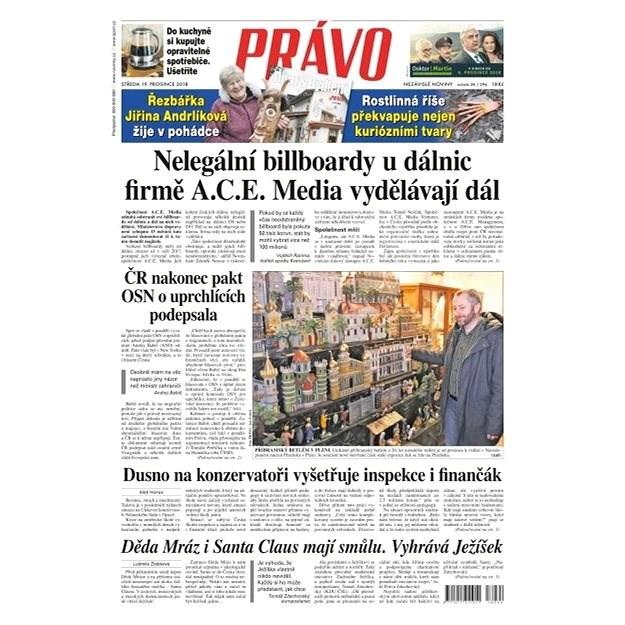 Právo - 19-12-2018 - Elektronické noviny