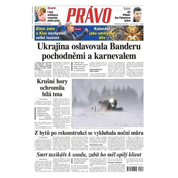 Právo - 03-01-2019 - Elektronické noviny