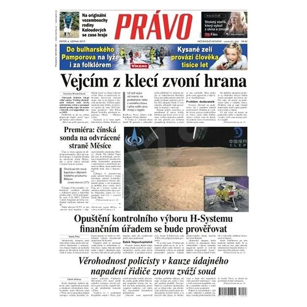 Právo - 04-01-2019 - Elektronické noviny