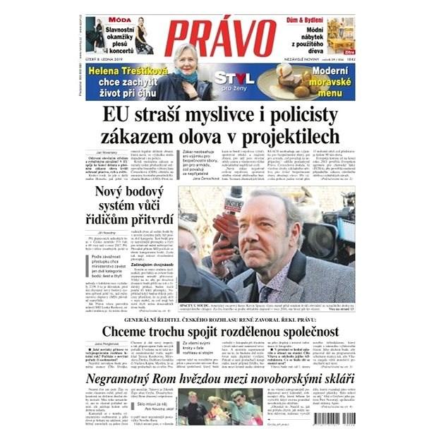 Právo - 08-01-2019 - Elektronické noviny