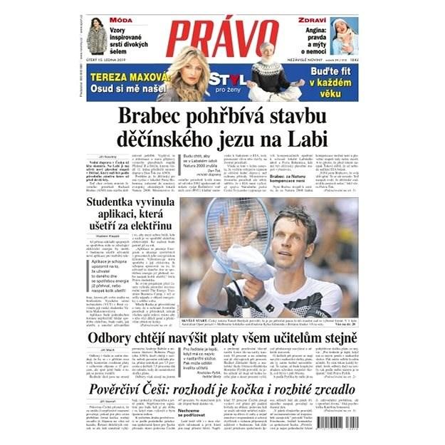 Právo - 15-01-2019 - Elektronické noviny