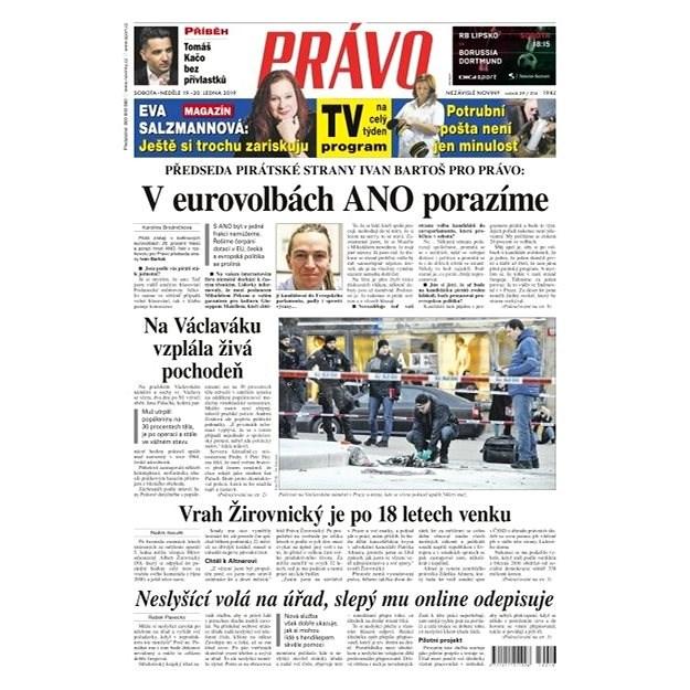 Právo - 19-01-2019 - Elektronické noviny