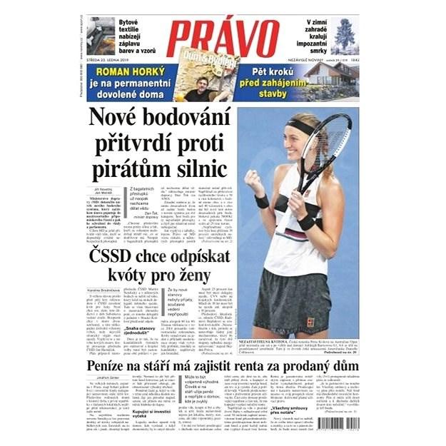 Právo - 23-01-2019 - Elektronické noviny