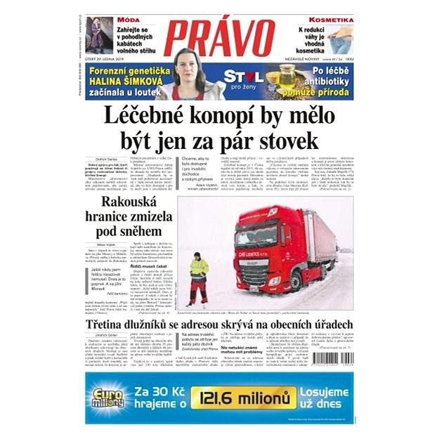 Právo - 29-01-2019 - Elektronické noviny