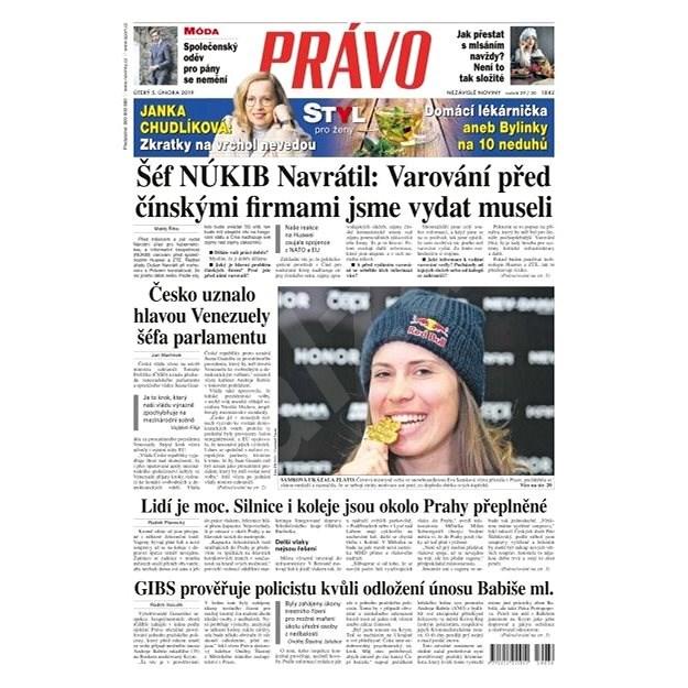 Právo - 05-02-2019 - Elektronické noviny