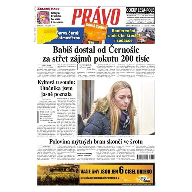 Právo - 06-02-2019 - Elektronické noviny