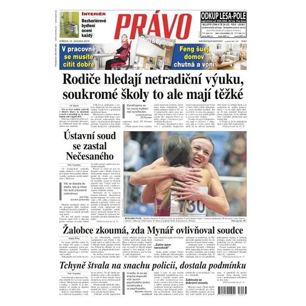 Právo - 13-02-2019 - Elektronické noviny
