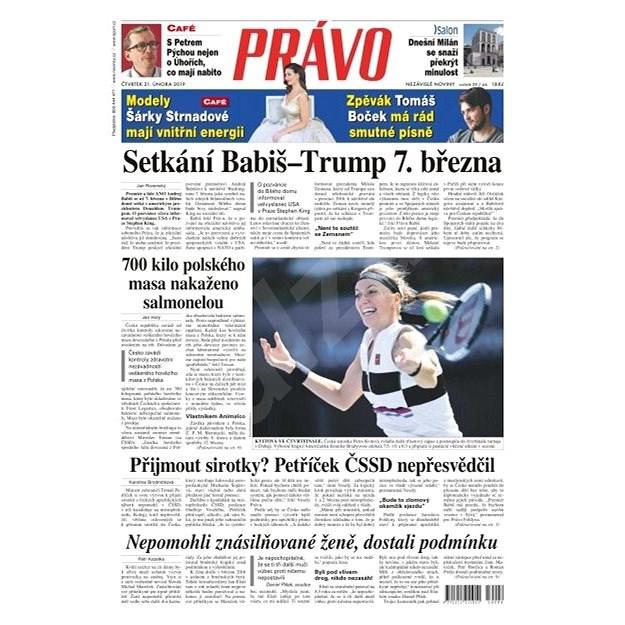 Právo - 21-02-2019 - Elektronické noviny