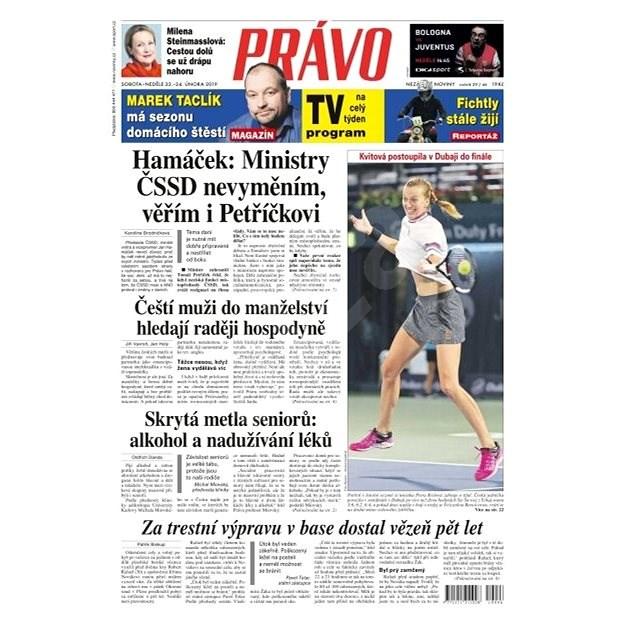 Právo - 23-02-2019 - Elektronické noviny