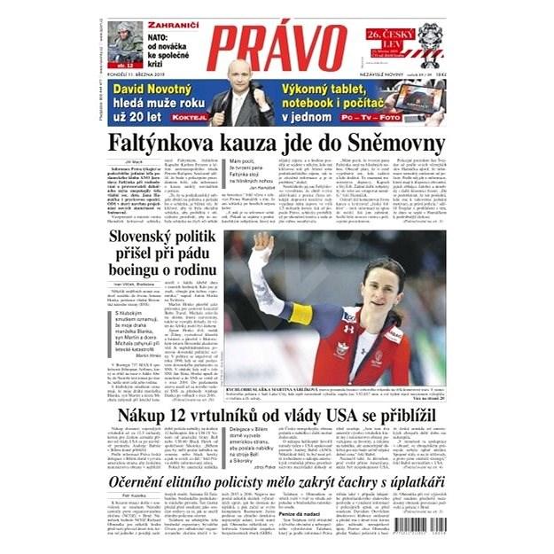 Právo - 11-03-2019 - Elektronické noviny