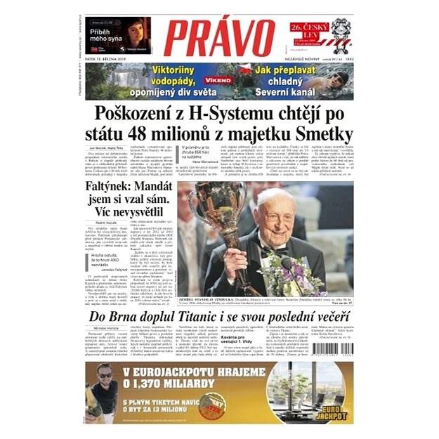 Právo - 15-03-2019 - Elektronické noviny