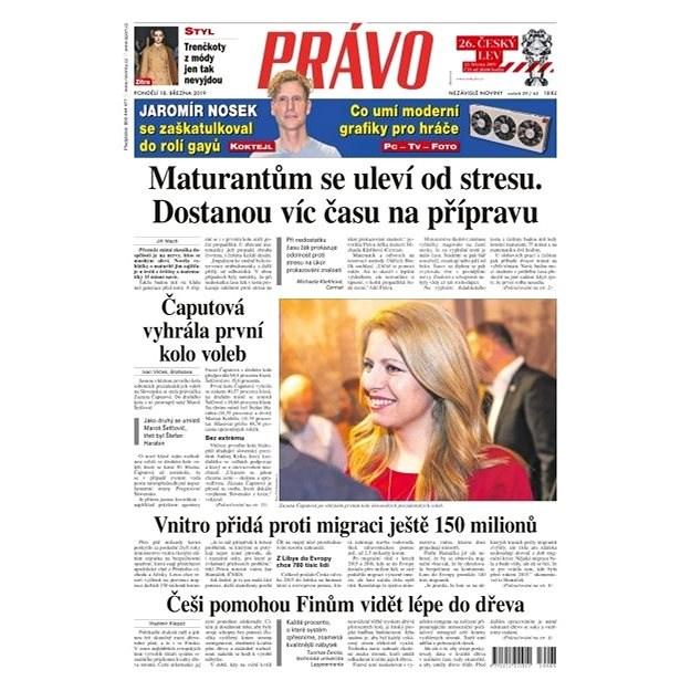 Právo - 18-03-2019 - Elektronické noviny