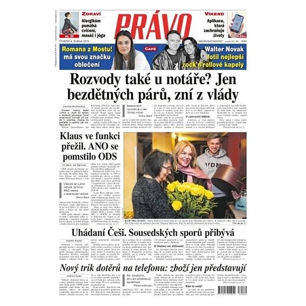 Právo - 04-04-2019 - Elektronické noviny