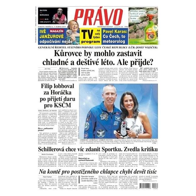 Právo - 06-04-2019 - Elektronické noviny