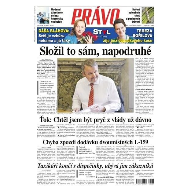 Právo - 09-04-2019 - Elektronické noviny